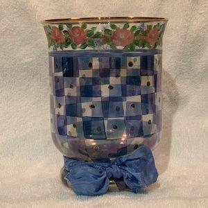 Mackenzie Childs hurricane candle holder
